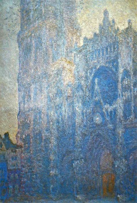 19. Claude Monet, Rouen Cathedral, The Portal And The Tour d'Albane, Morning Effect, 1894