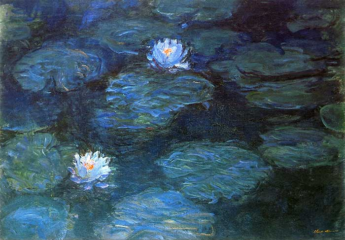 2. Claude Monet, Water Lilies (2), 1897-1899
