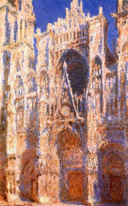 22. Claude Monet, Rouen Cathedral, The Portal In The Sun, 1894
