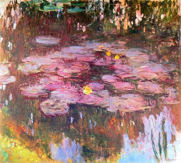 38. Claude Monet, Water Lilies (4), 1914-1917