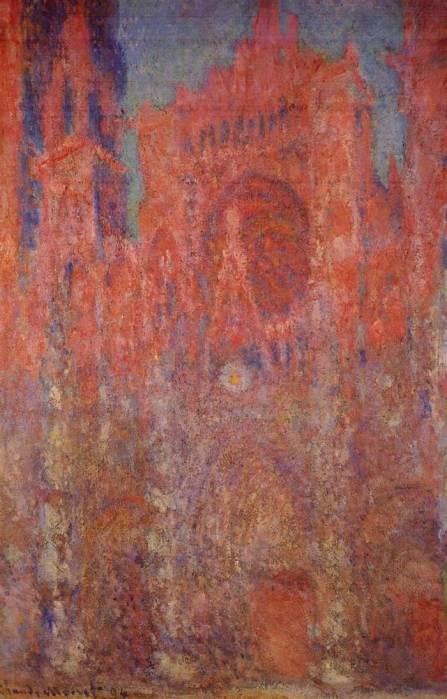 4. Claude Monet, Rouen Cathedral, 1894