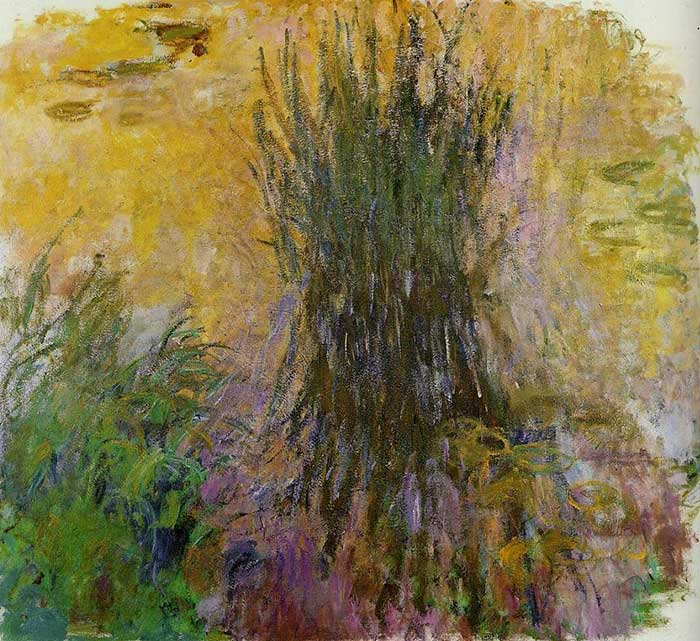 41. Claude Monet, Water Lilies (6), 1914-1917