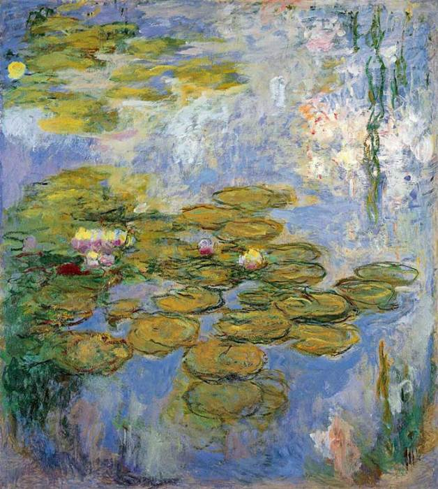 44. Claude Monet, Water Lilies (2), 1916-1919
