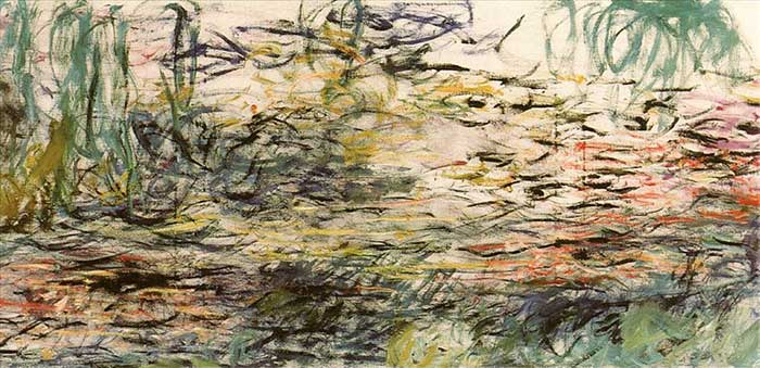 49. Claude Monet, Water Lilies, 1917-1920