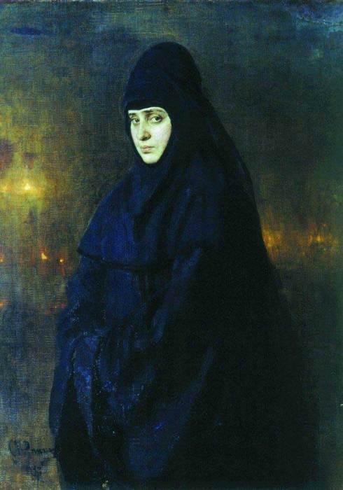 Ilya Repin, Nun, 1887