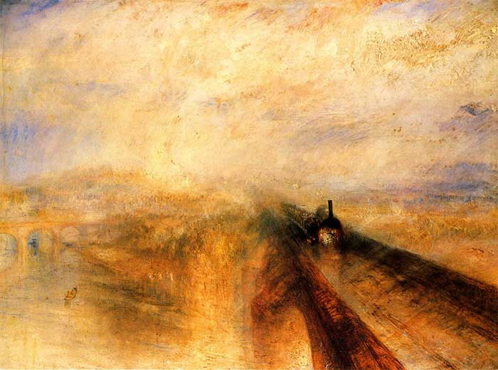 J.M.W. Turner, Rain Steam And Speed, The Great Western Railway