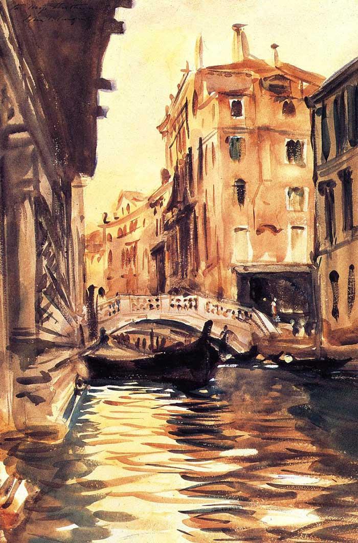 John Singer Sargent, Ponte Della Canonica, 1903