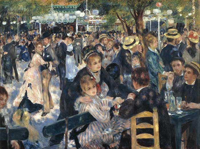 Pierre-Auguste Renoir, Dance At Moulin De La Galette, 1876