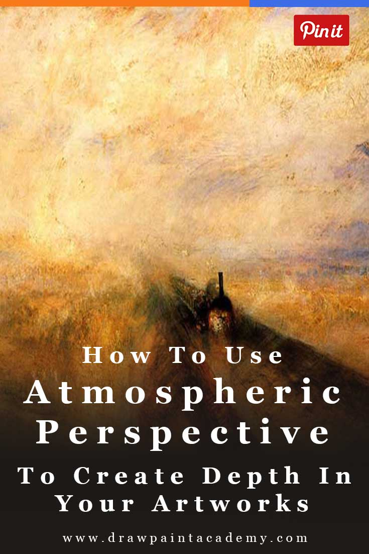 How To Use Atmospheric Perspective To Create Depth In Your Paintings. Atmospheric perspective (or aerial perspective) refers to how the atmosphere affects how we see objects as they recede into the distance. Atmospheric perspective indicates that as an object recedes into the distance relative to the viewer, we see that object with reduced clarity, value and color saturation. In this post we will delve into how you can use atmospheric perspective to improve your artworks.