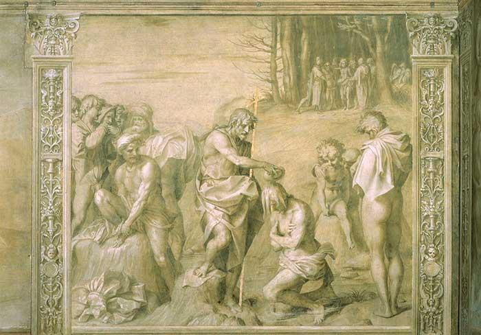 Battesimo della gente, Florence, 1511-26