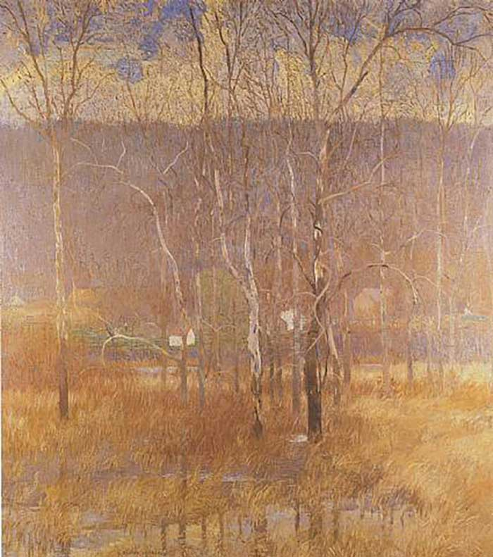 Daniel Garber, Grey Day-March, 1914