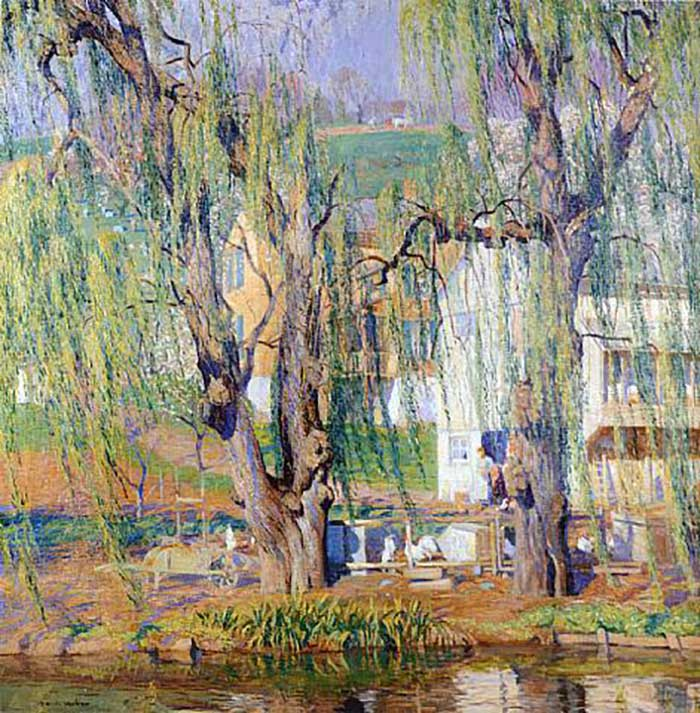 Daniel Garber, Old Willows-Springtime
