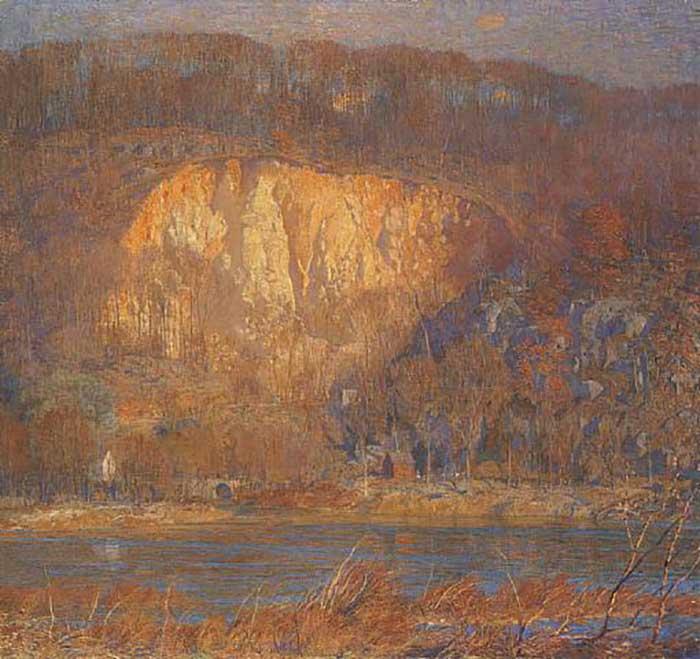 Daniel Garber, Quarry At Byram, 1921