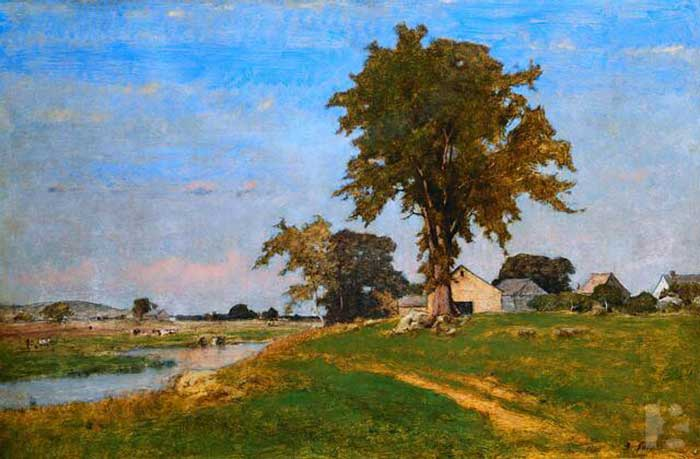 George Inness, Old Elm At Medfield