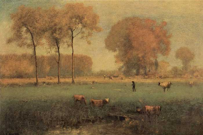 George Inness, Summer Landscape, 1894