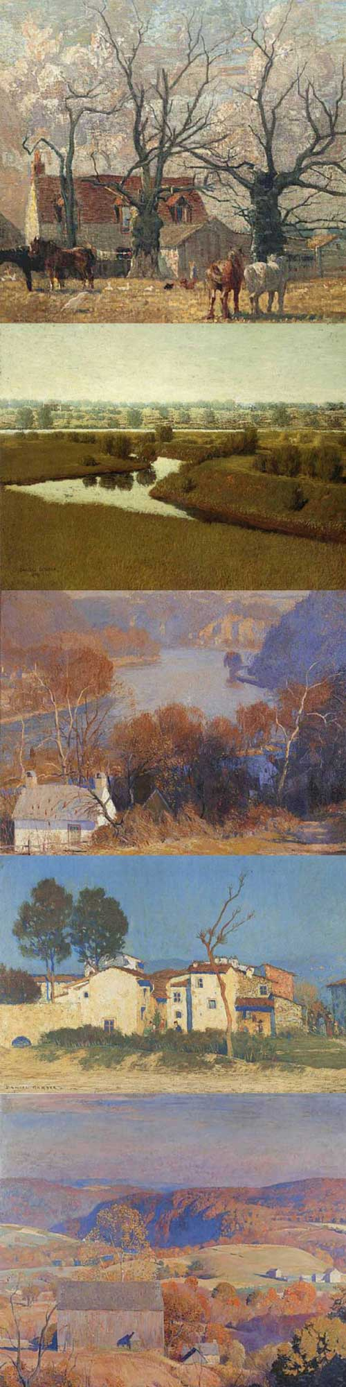 17 Stunning Paintings By Daniel Garber