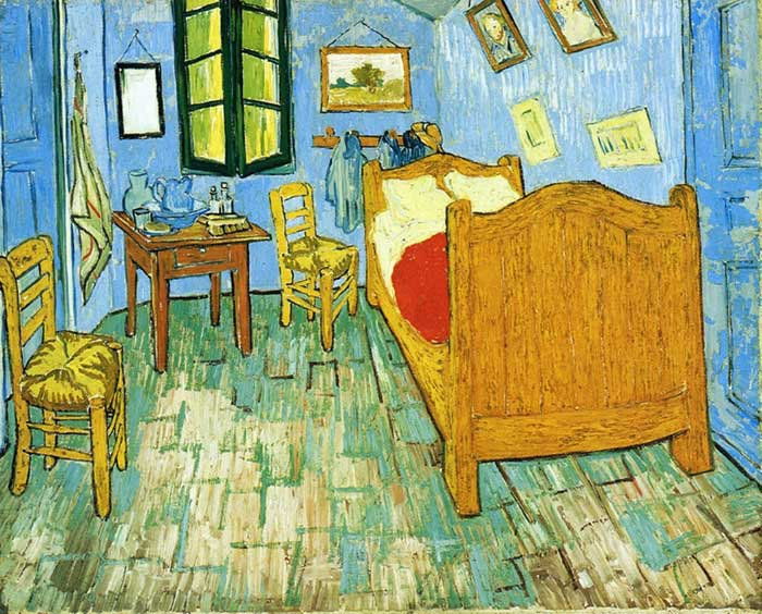 Vincent van Gogh, Vincent's Bedroom In Arles, 1889