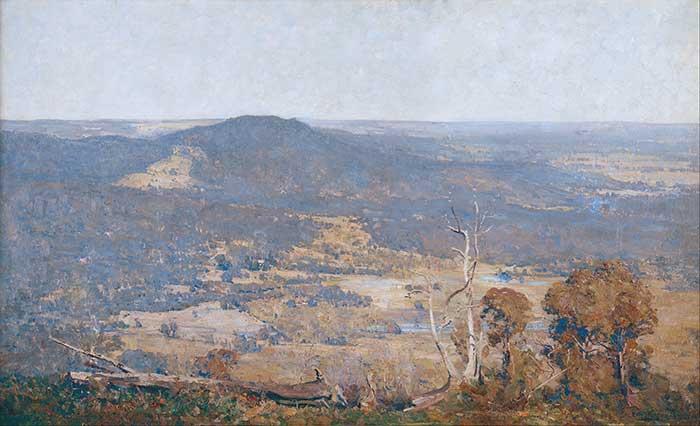 Arthur Streeton, Australia Felix, 1907