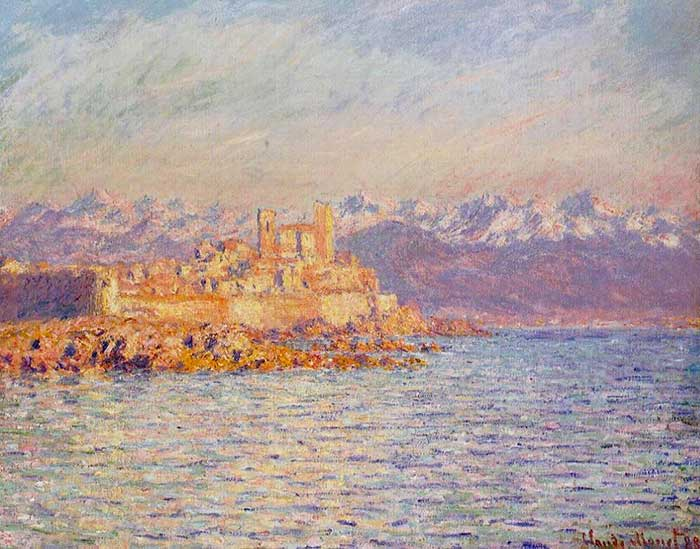 Claude Monet, The Bay Of Antibes, 1888