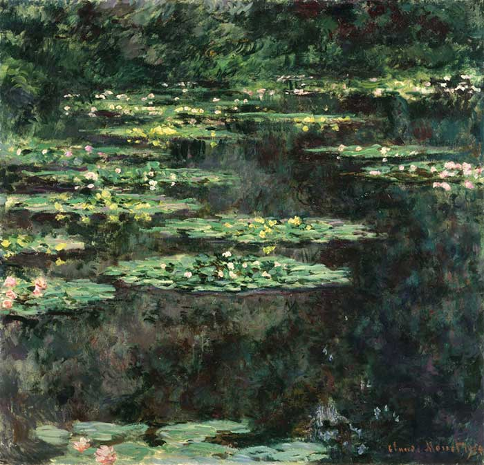 Claude Monet, Water Lilies, 1904