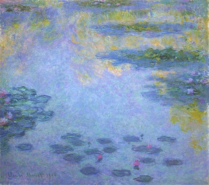 Claude Monet Water Lilies 3 1906