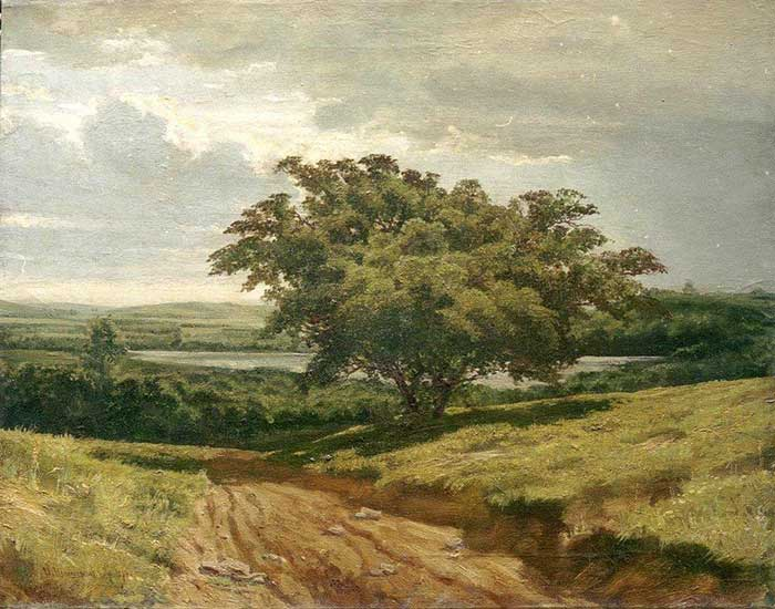 Ivan Shishkin, A Road, 1874