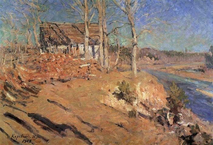 Konstantin Korovin, Autumn Landscape, 1909