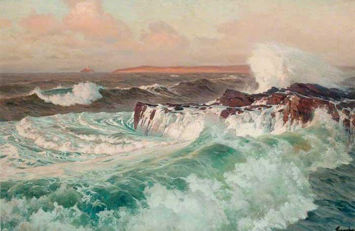 Frederick Judd Waugh, Seascape