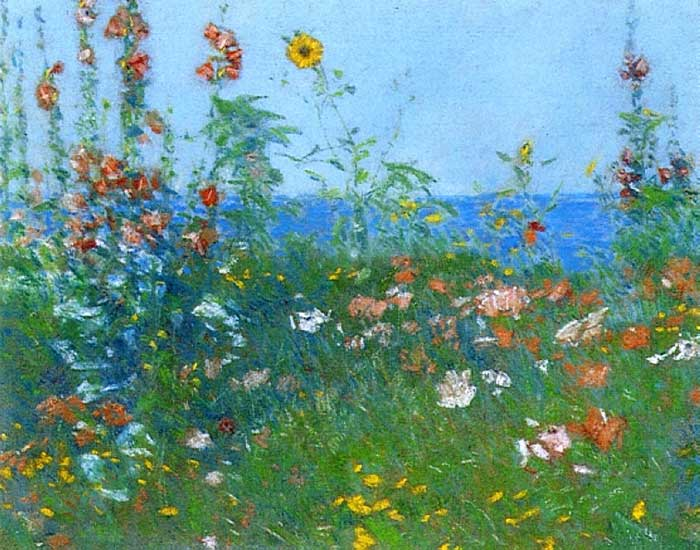 Childe Hassam, Poppies, Isles Of Shoals 03, 1891