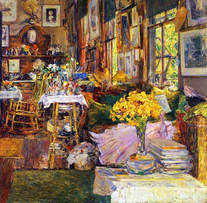 Childe Hassam, The Room of Flowers, 1894