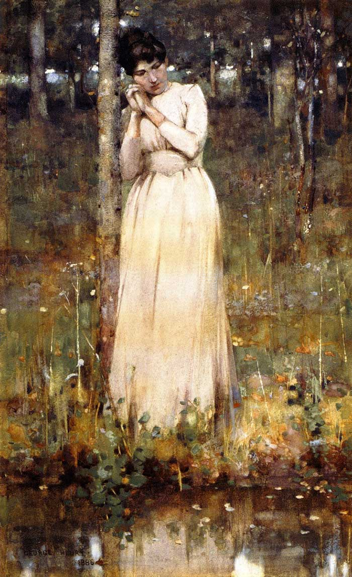George Henry, The Girl In White, 1886