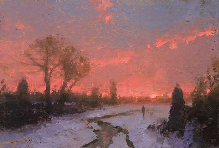 Brent Cotton, Red Sky Morning