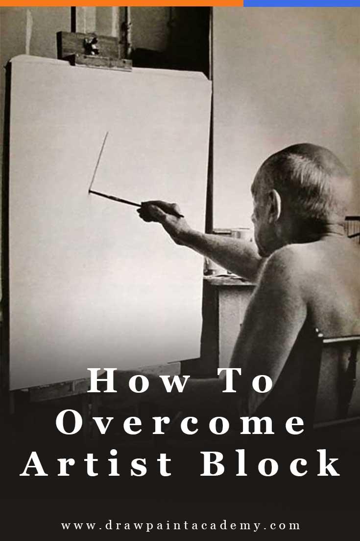 How To Overcome Artist Block   Art Inspiration   Art Ideas   Art Studio #art #create
