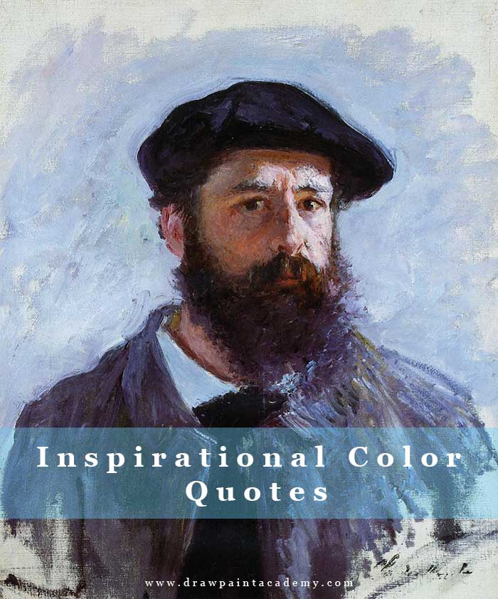 Inspirational Color Quotes By The Masters Of Painting