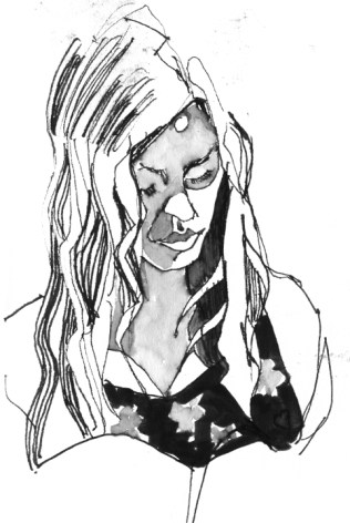 Night drawing.