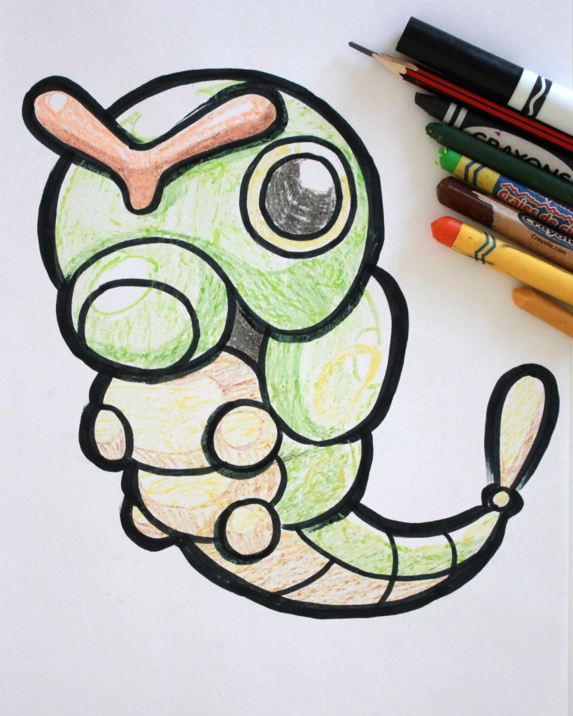 Caterpie Drawing
