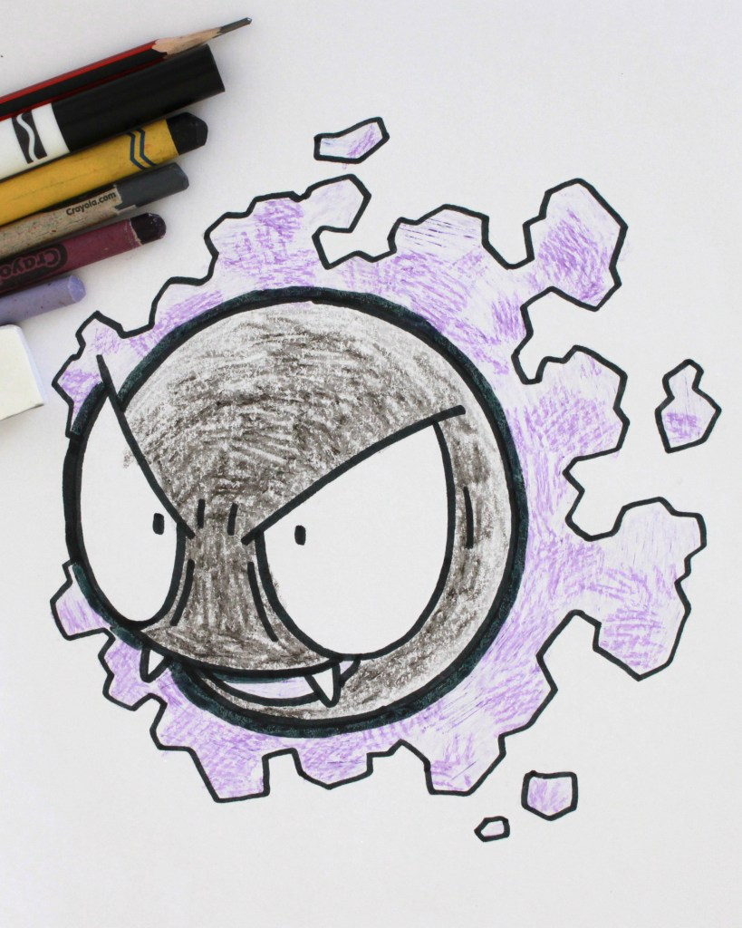 Gastly Drawing