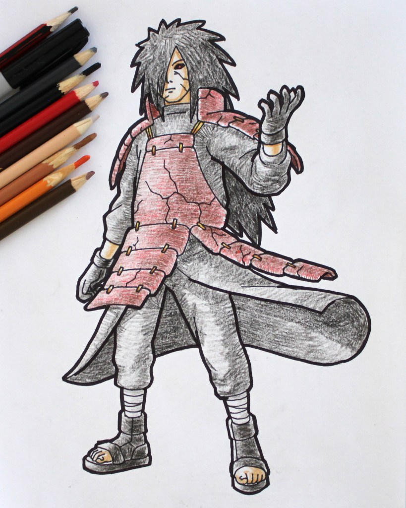 Madara Uchiha Drawing