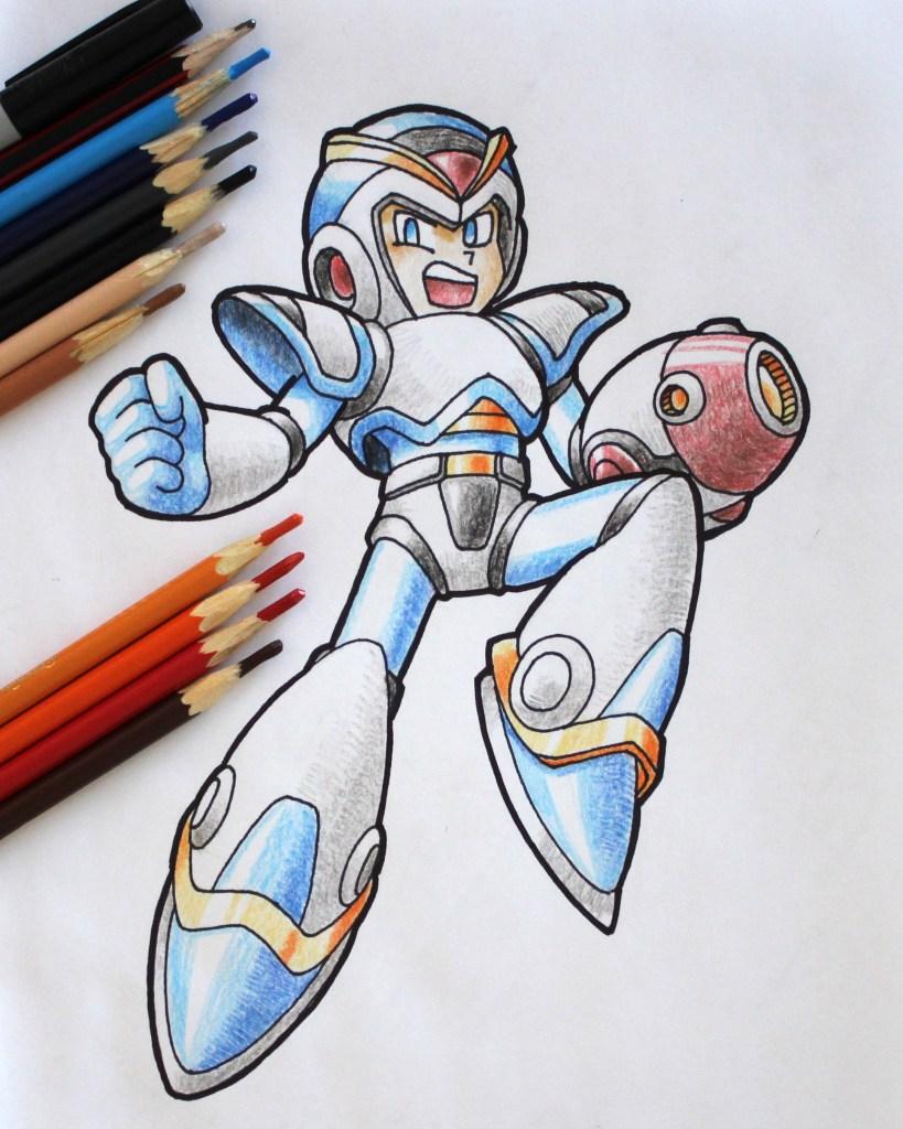 Megaman X Drawing