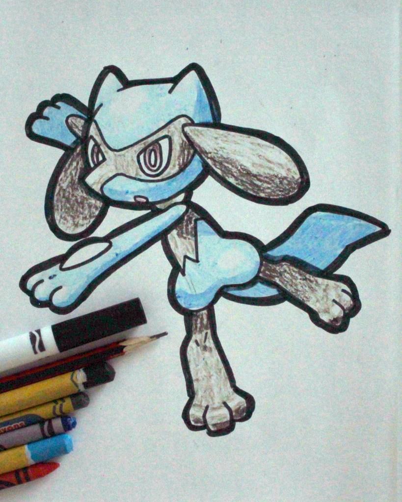 Riolu Drawing