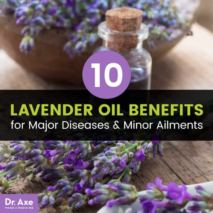 Lavender oil benefits - Dr. Axe