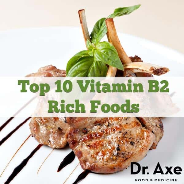 Top 10 (Riboflavin) Vitamin B2 Rich Foods - DrAxe.com