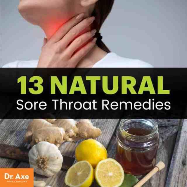 13 natural sore throat remedies