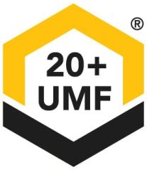 UMF 20 sign label stamp
