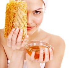 honey face mask, Honeycomb skin treatment