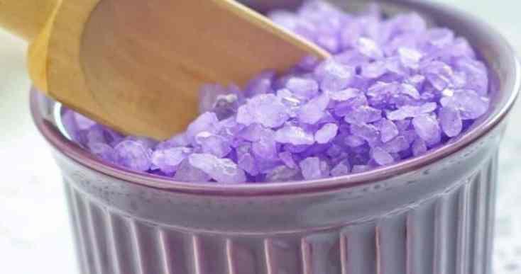 Lavender Detox Bath salts