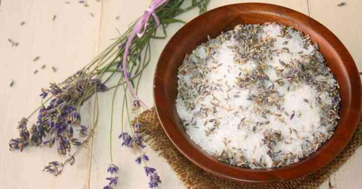 Lavender Eucalyptus Bath Soak salts