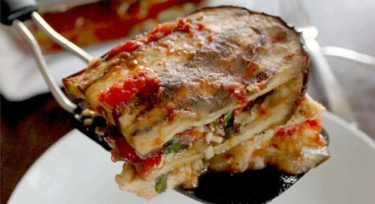 Chicken Eggplant Lasagna