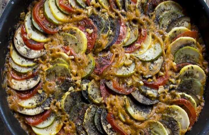 Slow-Roasted Ratatouille