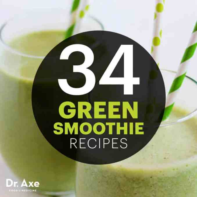 Green smoothie recipes - Dr. Axe
